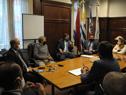 Reunión entre autoridades de Secretaría Nacional del Deporte y Asociación Uruguaya de Fútbol