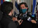 Presidente de la Asociación Uruguaya de Fútbol (AUF), Ignacio Alonso