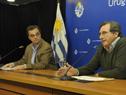 Ministro de Desarrollo Social, Pablo Bartol, y subsecretario de la cartera, Armando Castaingdebat
