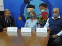 Director de la Secretaría Nacional del Deporte, Sebastián Bauzá, haciendo uso de la palabra