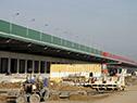 Autoridades del Ministerio de Industria recorren obras del Parque Agroalimentario