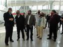 Recorrida por obras en puertos de Colonia, Nueva Palmira y Juan Lacaze fue encabezada por el ministro Luis Alberto Heber