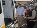 Autoridades de ASSE realizaron entrega de ambulancias especializadas destinadas a centros auxiliares de Castillos y Chuy