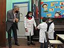Presidente del Consejo Directivo Central de ANEP, Robert Silva, visitó centros educativos de Canelones y Maldonado