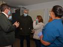 Presidente de la ASSE, Leonardo Cipriani, recorrió los centros de la Red de Atención de Primaria (RAP) de Canelones