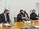 Presidente Luis Lacalle Pou encabeza Consejo de Ministros en el piso 11 de Torre Ejecutiva