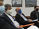 Reunión del Consejo Superior Tripartito, encabezada por el ministro de Trabajo, Pablo Mieres