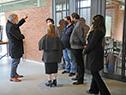 Robert Silva visita Instituto Superior Brazo Oriental de la Universidad del Trabajo del Uruguay (UTU)