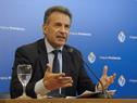 Ministro de Salud Pública, Daniel Salinas