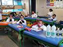 Producción de Alcoholes del Uruguay (ALUR) de más de un millón de litros de alcohol, en gel y líquido