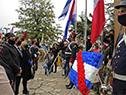 Presidente, Luis Lacalle Pou, encabezó acto conmemorativo del 256.º aniversario del Natalicio de José Artigas, en Sauce, Canelones