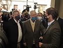 Presidente, Luis Lacalle Pou, es recibido en la Casa de la Cultura de Treinta y Tres