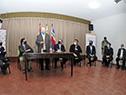 Presidente, Luis Lacalle Pou, encabezó la reunión con el Comité Departamental de Emergencia en Treinta y Tres