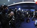 Conferencia de prensa del presidente, Luis Lacalle Pou, en Treinta y Tres, junto con autoridades del Gobierno y del Cecoed