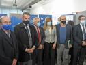 Autoridades al finalizar la conferencia de lanzamiento del proyecto del Centro de Innovación en Vigilancia Epidemiológica