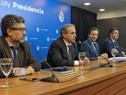 Subsecretario de Turismo, Remo Monzeglio, dirigiéndose a los presentes