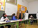 Presidente del Codicen, Robert Silva, y autoridades de ANEP visitaron la escuela n.° 72, Japón