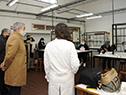 Presidente del Codicen, Robert Silva, en el Instituto Tecnológico Superior Buceo y la Escuela Superior de Informática