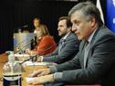 Ministro de Industria, Energía y Minería, Omar Paganini, haciendo uso de la palabra