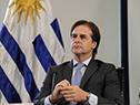 Presidente de la República, Luis Lacalle Pou, en la Cumbre de Presidentes del Mercosur y Estados Asociados