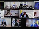 Videoconferencia de la Cumbre de Presidentes del Mercosur y Estados Asociados