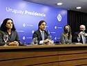 Azucena Arbeleche, Luis Lacalle Pou, Carolina Ache y Diego Escuder