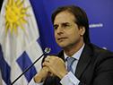 Presidente, Luis Lacalle Pou, en conferencia de prensa, una vez culminada la Cumbre del Mercosur