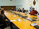 Reunión entre Ferrés, Radío y representantes de empresas vinculadas al cannabis medicinal e industria del cáñamo