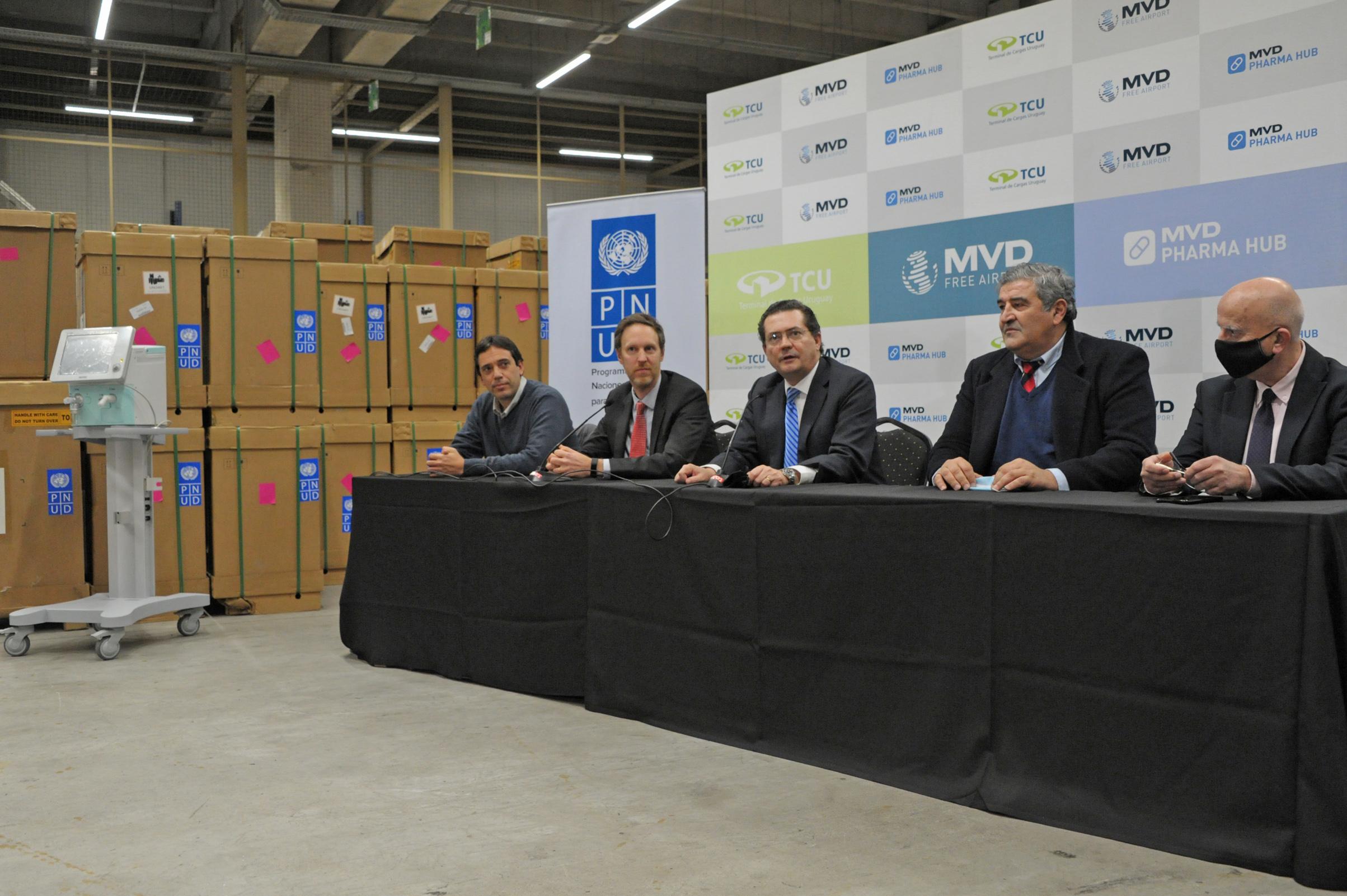 Bruno Guella, Stefan Liller, Rodrigo Ferrés, Pablo Picabea y Mariano Berro