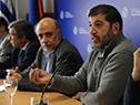 Ministro de Trabajo, Pablo Mieres, encabezó conferencia de prensa con representantes de cámaras empresariales y PIT-CNT