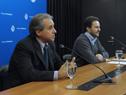 Subsecretario de Turismo, Remo Monzeglio, y ministro de la cartera, Germán Cardoso
