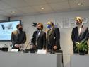 Presidente Lacalle Pou encabezó firma de convenio entre Inefop y Microsoft