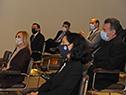 Autoridades presentes en la conferencia