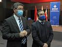 Acto de recepción de donaciones de equipamientos e insumos médicos destinados a ASSE