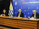 Integrantes del Grupo Asesor Científico Honorario: Rafael Radi, Fernando Paganini y Henry Cohen