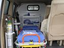 Presidente de la República, Luis Lacalle Pou, encabezó acto de entrega de una ambulancia destinada a la policlínica de Porvenir, Paysandú