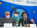 Conferencia de presentación de protocolo para la actividad deportiva infantil en todo el territorio nacional
