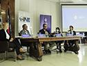 Ministro de Desarrollo Social, Pablo Bartol, haciendo uso de la palabra