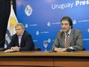 Subsecretario nacional del Deporte, Pablo Ferrari, haciendo uso de la palabra
