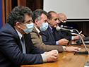 Asunción de los delegados de instituciones médicas de la capital y el interior