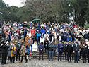 Ciudadanos que se hicieron presentes en el festejo