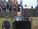 El principal orador fue el ministro de Educación y Cultura, Pablo da Silveira