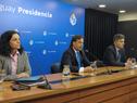 Presidente Luis Lacalle Pou, haciendo uso de la palabra