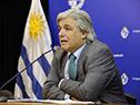 Canciller Francisco Bustillo, en conferencia de prensa