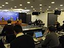 Conferencia de prensa encabezada por el canciller, Francisco Bustillo