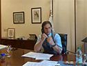 Presidente Luis Lacalle Pou en contacto con la canciller alemana, Angela Merkel