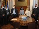 Entrega del proyecto de ley del Presupuesto Quinquenal 2020-2024