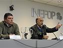 Ministro de Trabajo y Seguridad Social, Pablo Mieres, y director del Inefop, Pablo Darscht