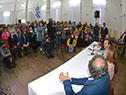Presidente Luis Lacalle Pou participa de la presentación del proyecto para construir un hotel cinco estrellas con casino