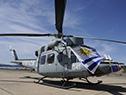 Helicóptero para patrullaje naval, traslado sanitario y cuidado ambiental